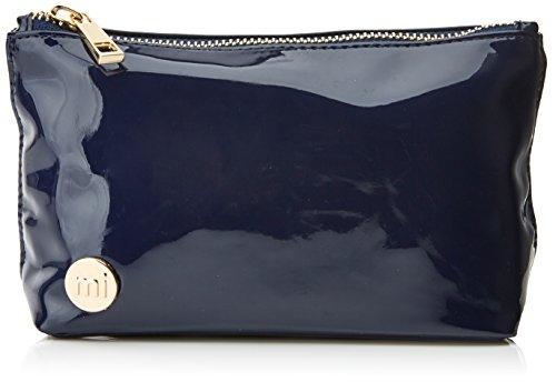 Mediados-Pac compone el kit de maquillaje Bolsa, 19 cm, azul (patente Navy)