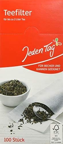 Jeden Tag Teefilter 100er, 68 g