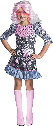 Brandsseller Monster High Viperine Gorgon Kinderkostüm Mädchenkostüm Karneval Fasching - Größe: M