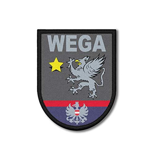 Copytec Patch WEGA Polizei Einsatzeinheit Österreich Wiener Einsatzgruppe 9x7cm #31365