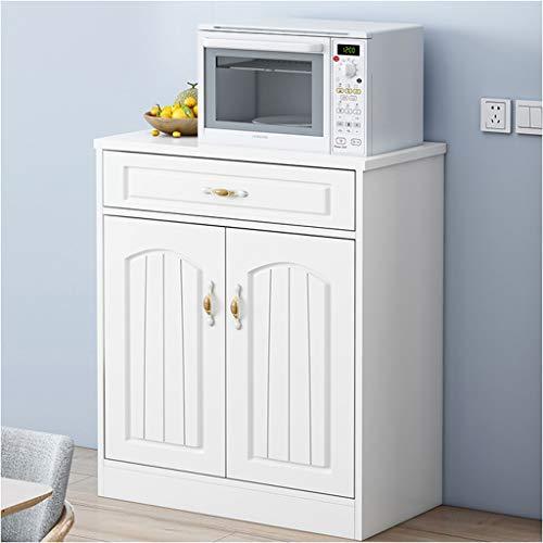 Draagbare dressoir thee kast eenvoudige en moderne multifunctionele kast keuken opslag locker restaurant side cabinet warm wit XMJ