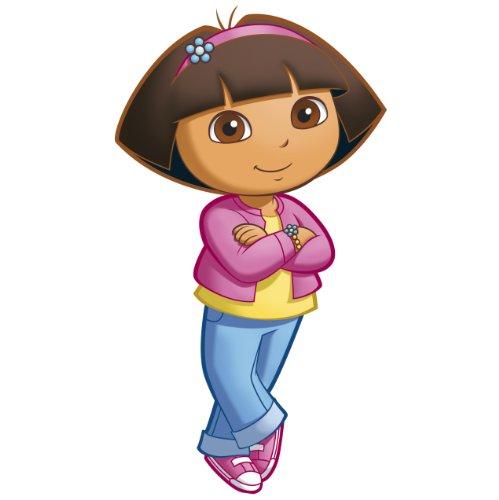 RoomMates RMK1400GM Dora the Explorer Wandaufkleber, groß, zum Abziehen und Aufkleben