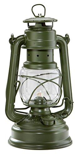Feuerhand Baby Special 276 verzinkt Petroleumlampe Sturmlaterne/olivgrün matt/BUNDESWEHR / RAL 6003