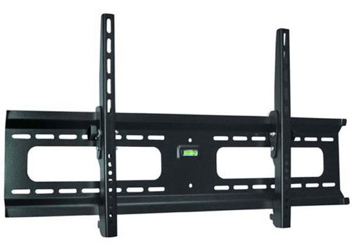 """Ultra-Slim Black Adjustable Tilt/Tilting Wall Mount Bracket for Sharp PN-Y555 55"""" inch LED Digital Signage - Low Profile"""