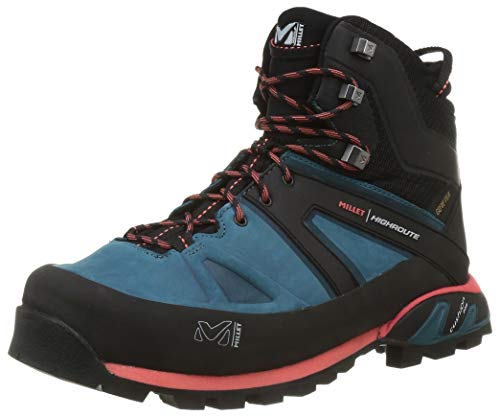 MILLET Women's High Rise Hiking Shoes, Blue Emerald 6390