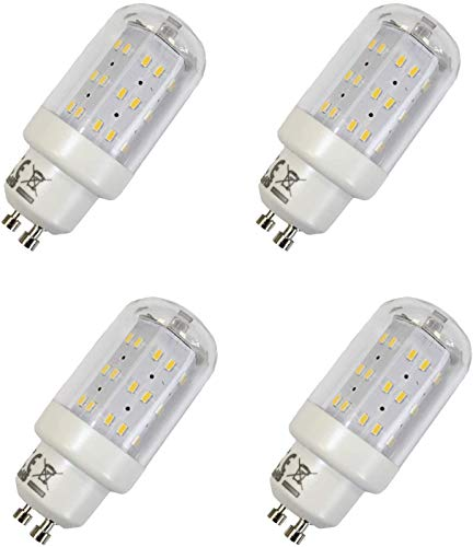 4er Pack LED GU10 Maxiflood 4W Verbrauch - entspricht 40W Helligkeit, (4ER PACK- Neutralweiss)