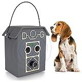 0BEST Dispositivo de prevención de ladridos de perros, dispositivo de control de ladridos para exterior, impermeable, apto para animales domésticos