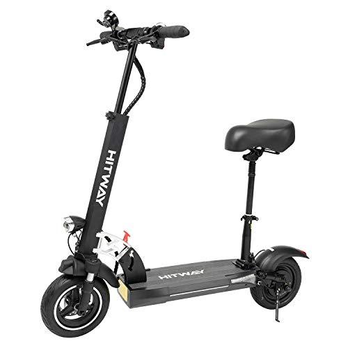 HITWAY Scooter eléctrico,Patinete eléctrico Plegable para Adultos, Motor de 800 W, 3...