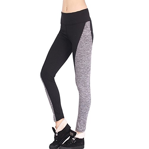VECDY Damen Hosen Yogahosen Sport Hose Athletic Gym Workout Fitness Yoga Leggings Hose Haremshosen Stretchhose Tanzhosen Jogginghose Sporthosen
