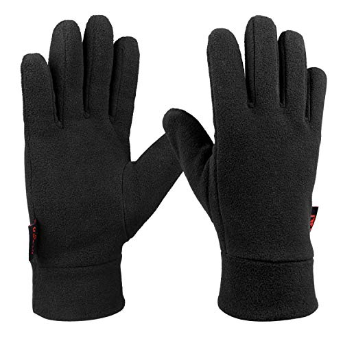 OZERO Thermo Fahrradhandschuhe, Winterhandschuhe Laufhandschuhe Motorrad Handschuhe für Herren und Damen