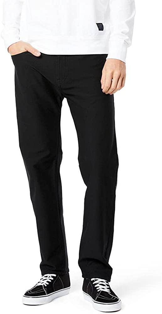 Dockers Men's Straight Fit Comfort Knit Jean Cut Pants