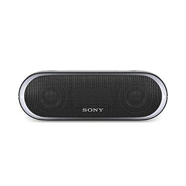 Sony XB20 Portable Wireless Speaker with Bluetooth, Black