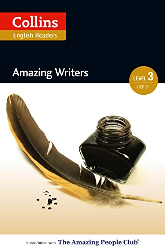 Amazing Writers: B1 (Collins Amazing People ELT Readers) (English Edition)