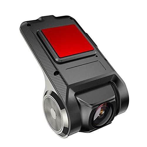 OocciShopp X28 Dv Fhd 1080P 120 掳 Dash CAM Car Dvr Camera Recorder WiFi Adas G-Sensor Video Auto Recorder Cámara de Tablero (Negro)