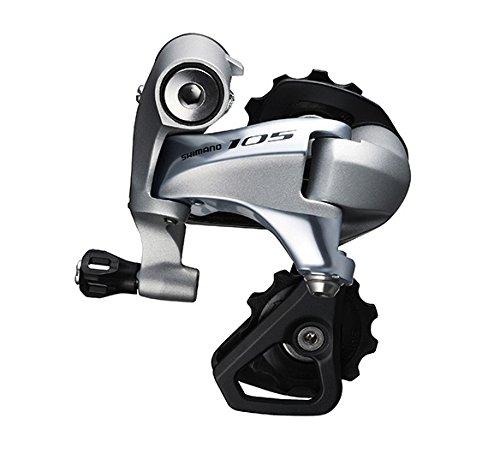 SHIMANO 105 RD-5800–Schaltwerk vorne für Rennrad–11-Fach Silber kurzer Käfig 2016Schaltwerk für Rennrad