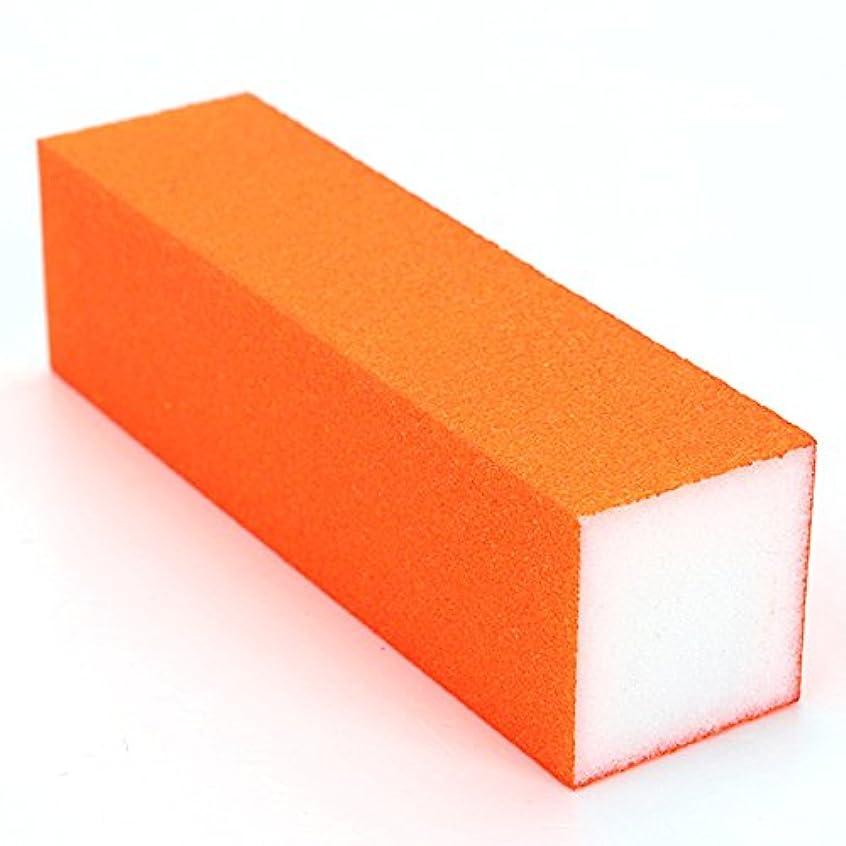 寄付荒らすチャットBeKitty 5本の蛍光色バフ研磨サンドネイルファイルブロックマニキュアツール