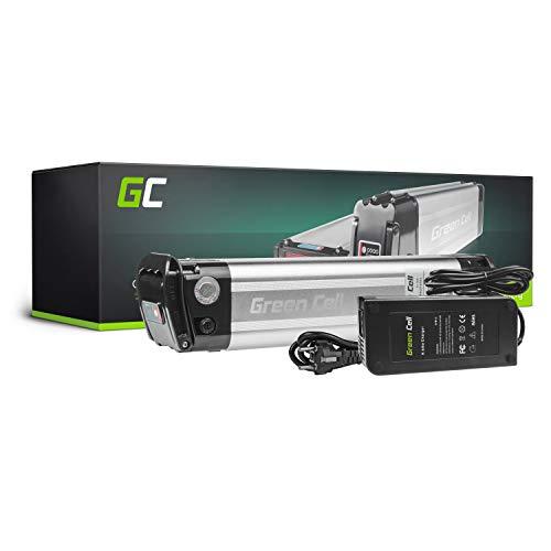 GC® E-Bike Akku 36V 10.4Ah Li-Ion Markenzellen Pedelec Silverfish Batterie mit Ladegerät für Cyco Frisbee Bikes Kreidler MiFa Prophete Rex Trio Zündapp
