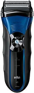 ماكينة الحلاقة الكهربائية الرطبة والجافة من سلسلة 3340S-4 من براون ، نظام قص ثلاثي الحركة ، ماكينة تشذيب دقيقة للشعر الطوي...