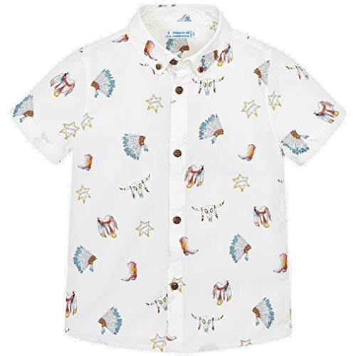 Mayoral Camisa Manga Corta Estampada niño Modelo 3133