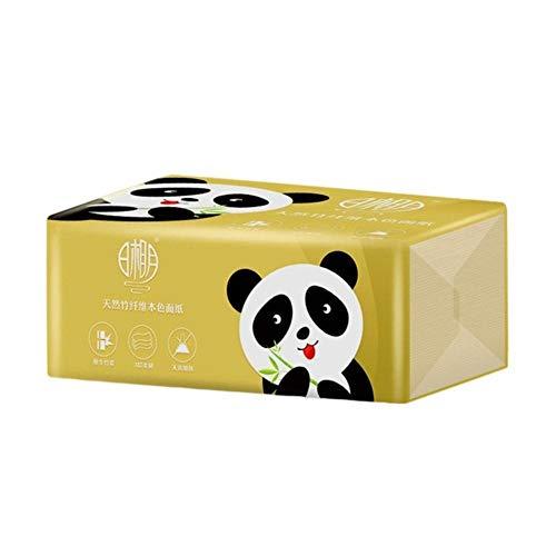 6 Stück Bambus Zellstoff bedrucken Papierhandtücher Mehrfach falten Interessantes Toilettenpapier 3 Schichten Serviette Tisch Küchenpapier Seidenpapier Handtuch, 6PCS, China