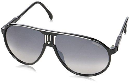 Carrera Champion, Gafas de sol Aviador Unisex, Negro (Black Silver), 62 mm