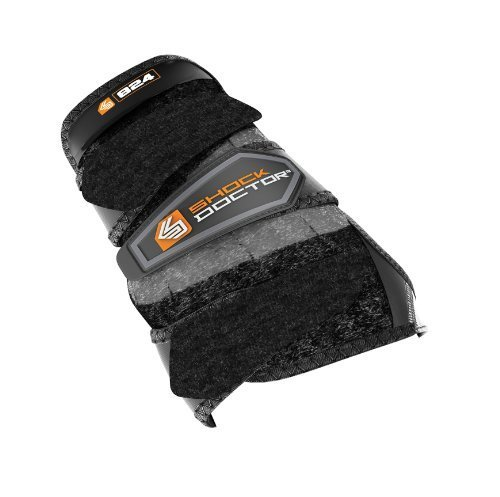 Shock Doctor Wrist 3-Strap Support (Left) - Black, Small by Shock Doctor