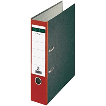 Viking Ordner 50 mm Glatt PP Cover  Papier innen Etikettenhalter 30 x 158 mm 2 R