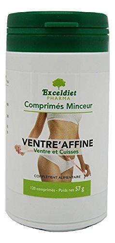 Ventre Plat | Minceur Detox | 120 Comprimés | Thé Vert | Fibres Acacia | Guarana | Fabriqué en France