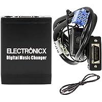 Electronicx Elec-M06-RD3 Adaptador de radio para coche USB SD AUX MP3 CD para Peugeot CITROEN Radios RDR cambiador de cd