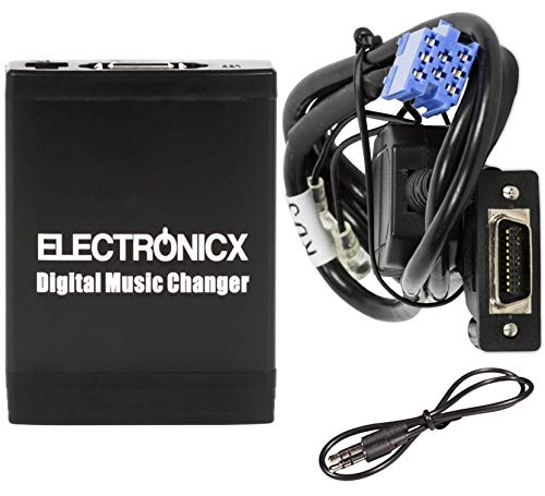 Electronicx Elec-M06-RD3 Adaptador de radio para coche USB SD AUX MP3 CD para...