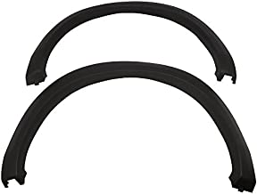 Fender Flares Compatible With 2010-2018 Dodge Ram 2500 3500 | Factory Style Matte Black Finish PP Injection Front Wheel Cover Protector Vent Trim by IKON MOTORSPORTS | ?2011 2012 2013 2014 2015 2016