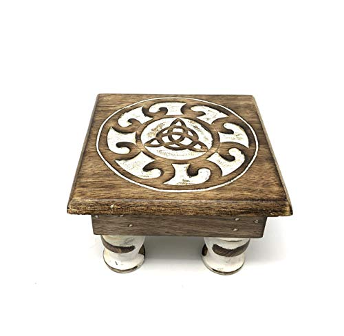 Wooden Altar Table (Triquetra)