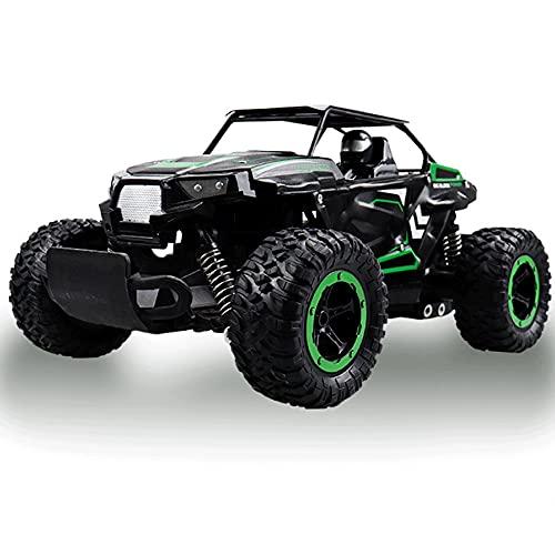 KGUANG 1:14 Aleación de Alta Velocidad Bigfoot Drifting RC Car 4WD Escalada Amortiguador Independiente La Velocidad del automóvil Puede ser rápida/Lenta Buggy 2.4G Control Remoto Juego de Juguetes p