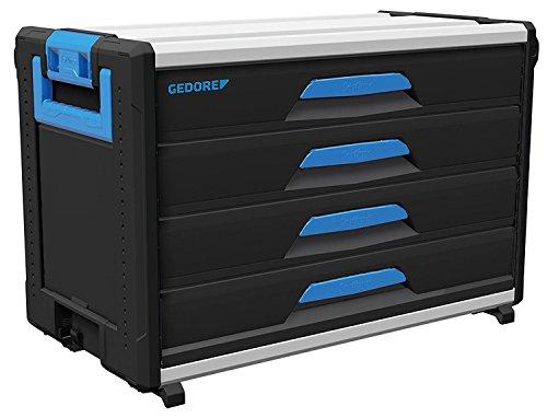 GEDORE 1110 WM 34 Werkzeug-Box-Modul WorkMo B3, 4 Schubladen H6