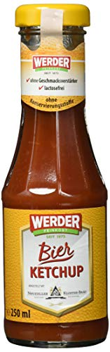 Werder Bier Ketchup mit Zwiebeln, 1er Pack (1 x 250 ml)