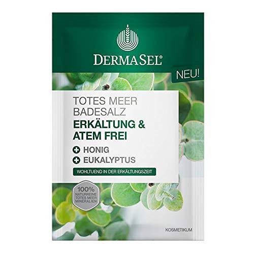 DERMASEL Totes Meer Badesalz Erkältung & Atemfrei 80 g Bad