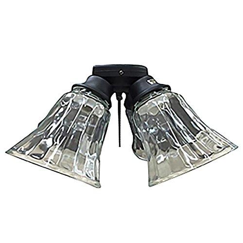Harbor Breeze Black Finish Ceiling Fan Light Kit Brickseek