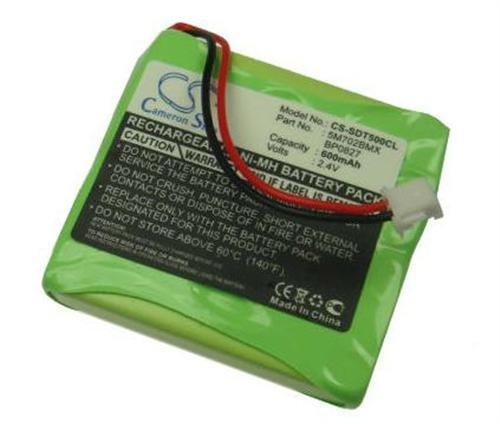 Hochleistungs Ni-MH Akku 2,4V 500mAh ersetzt 5M702BMX GP0827 GP0845 BP0827 GP0830 BP0845 für Medion MD81877 MD82877 Life S63006 Slim DECT 500 Life S63022 MD82772 Life S63008 MD83877 X680 MD-81877