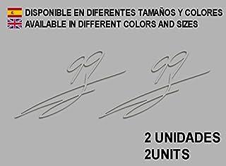 Pegatinas Stickers Moto 99 Signature Firma Jorge Lorenzo F65 AUFKLEBER Decals AUTOCOLLANTS ADESIVI Moto GP