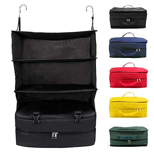 Alicer – Bolsa de viaje portátil, 3 capas, plegable, armario de pared,...
