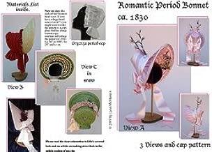 1830's Romantic Period Bonnet Pattern