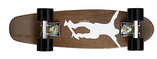 Ridge Maple Skateboard/Mini Cruiser, Dark Dye NR1