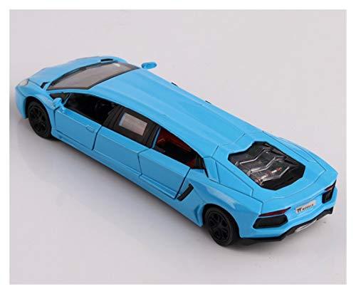 Bewitched ZHANGHANG Alargado 1:32 Diecast Car Modelo Toys Limousine Stretch Limusine con la luz de Sonido de la Espalda para los Juguetes para niños ZH (Color : 14)
