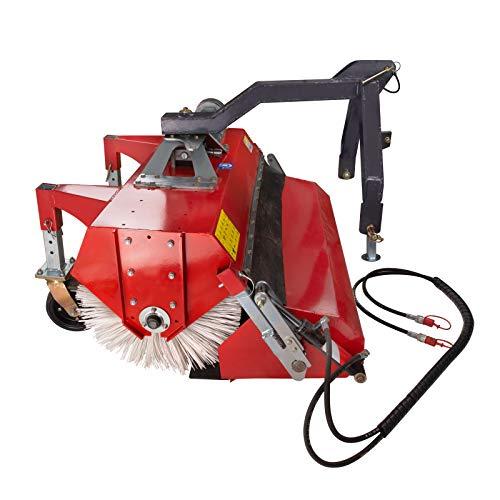 DEMA Traktor Hydraulik Kehrmaschine 120 cm für Kleintraktor Kat 1 I 15-30 PS