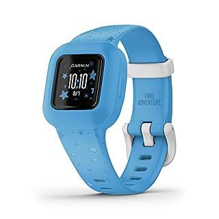 Garmin Vivofit Jr. 3, Kids Fitness/Activity Tracker, Blue Stars (B08JWZ5WY2)   Amazon price tracker / tracking, Amazon price history charts, Amazon price watches, Amazon price drop alerts