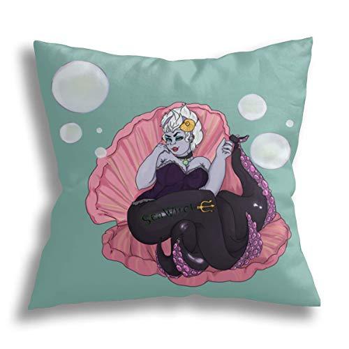 Wahom Pin-up Ursula, funda de almohada decorativa para decor