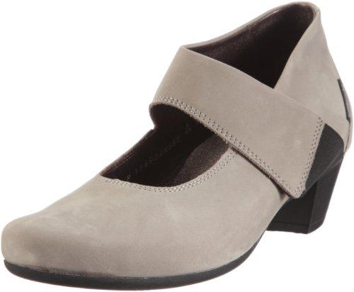 Mephisto RAUNI Bucksoft 6905 Light Grey P5047089 - Zapatos de Vestir de Cuero Nobuck para Mujer
