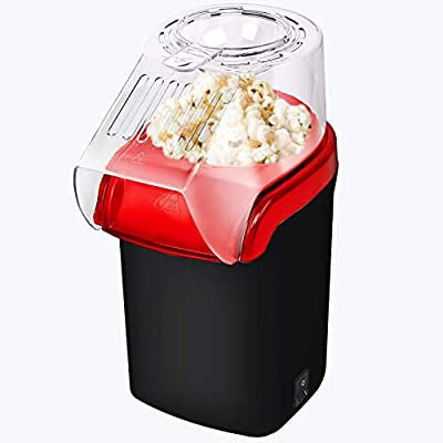 Mueller Ultra Pop, Hot Air Popcorn Popper, Electric Pop Corn Maker, Healthy and Quick Snack, No Oil Needed with Measuring/Butter Cup