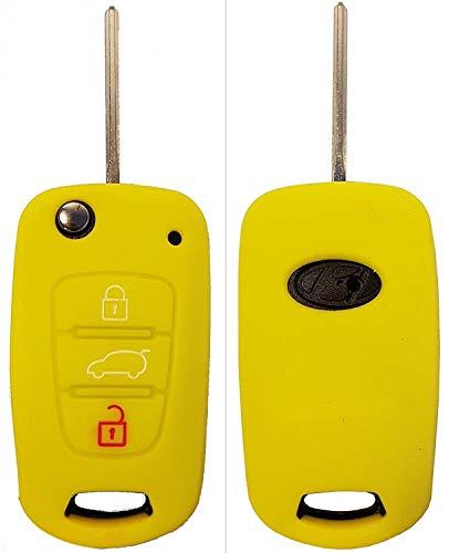 CK + Hyundai Auto de llave móvil Key Cover Case Funda Silicona para i10 i20 ix25 i30