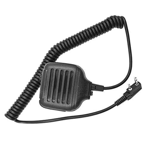 Toygogo Micrófono de Altavoz Portátil con Radio Bidireccional Walkie Talkie para //